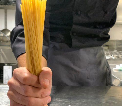 Spaghettoni ai moscardini